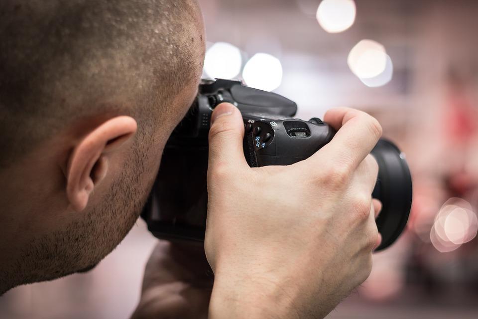 focení fotografa