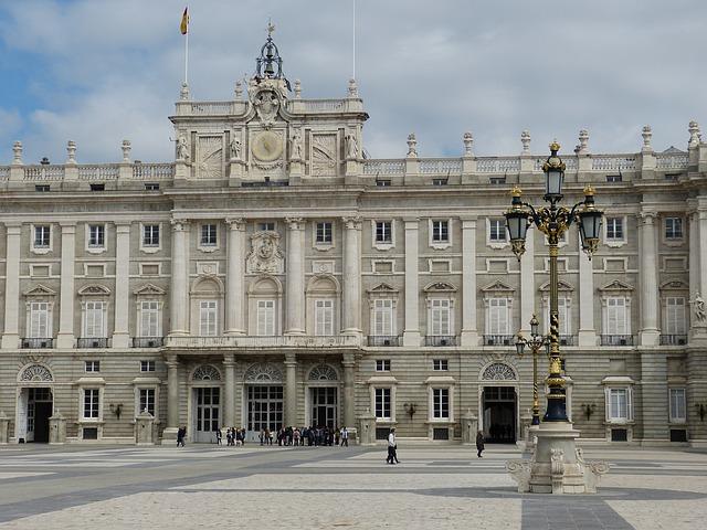 zámek v Madridu