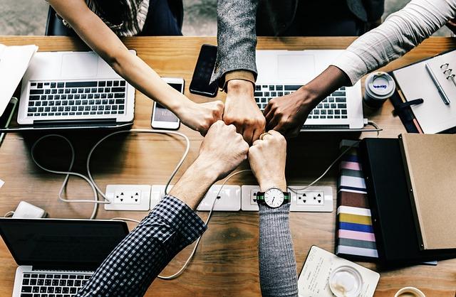 radost ze spolupráce