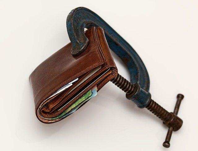 uzavřená peněženka