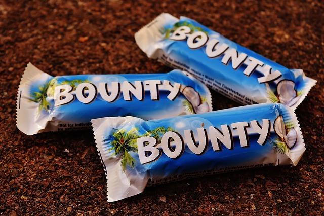 čokoládová tyčinka s kokosem