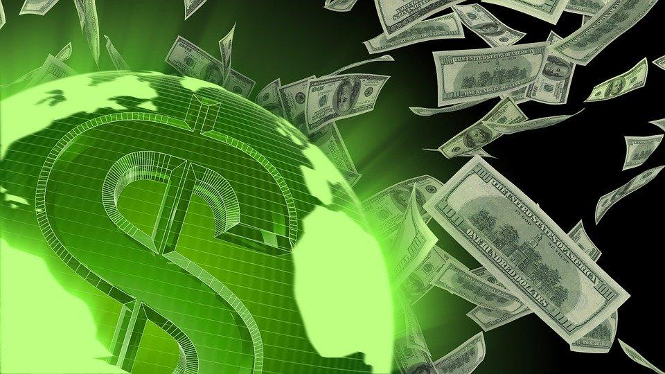 poletující dolary